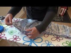 In deze video leer je hoe je je stof kunt rimpelen / fronsen. La Maison Victor…