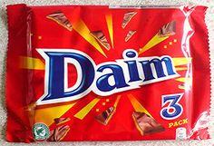 Daim bars - from Sweden