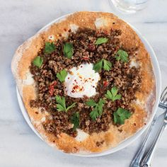 Turkey: Turkish Ground-Lamb Pizzas lamb recipes, groundlamb pizza, turkish groundlamb, cauliflower pizza, pizza recipes, ground lamb, gluten free pizza, homemade pizza, comfort foods