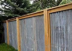 8 Reliable Tips: Garden Fence Decorating Ideas Garden Fence Panels Metal.Front Yard Fence Diy Fence Ideas For Pools.Fence Ideas For Front Yard. Corregated Metal, Corrugated Metal Fence, Metal Fences, Wooden Fence, Iron Fences, Pallet Fence, Sheet Metal Fence, Rustic Fence, Fence Stain