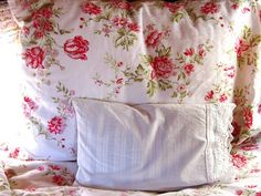 My cozy feather bed in my 1957 trailer! The Beehive Cottage