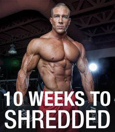 Maximize your fat loss with this 10 week shred workout program. Plus as a bonus - 5 tips to get the most fat loss out of the program! Fitness Workouts, Weight Training Workouts, Weight Loss Workout Plan, Weight Loss Tips, Fitness Tips, Lose Weight, Weekly Workouts, Exercise Workouts, Exercise Routines