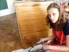 Como deixar MDF com cara de madeira, e como fazer pátina ´o vídeo