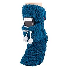 Teal Super Thick Comfy Shea Butter Infused Cell Phone Slipper Socks VH Apparel http://www.amazon.com/dp/B00NCAXRXW/ref=cm_sw_r_pi_dp_-Tqmwb10JZMVX