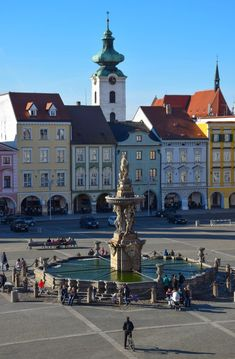 "České Budějovice, Czech Republic - Also known simply as ""Budweis,"" this charming town situated between Prague & Cesky Krumlov is the largest town in South Bohemia (and blissfully off the tourist radar).  #ceskebudejovice #travel #czechrepublic #smalltowns #europe #traveldestinations"