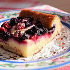 Tajunnan räjäyttävä Vattu-Mustikkakreemitorttu Pie Recipes, Baking Recipes, Sweet Recipes, Finnish Recipes, Sweet Pastries, Sweet Pie, Sweet And Salty, Something Sweet, Desert Recipes