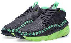 "Available: Nike Air Footscape Woven Chukka ""Poison Green"""