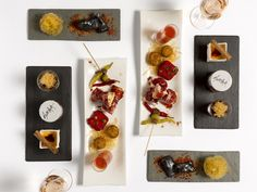 The team at Ametsa with Arzak Instruction has created a selection of tapas dishes to enjoy at The Halkin.