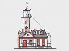 Lighthouses by @David Mikush