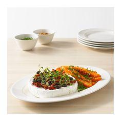 """VARDAGEN Serving plate - 14x9 """" - IKEA"""