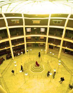 Top view of RGGI, Dr. Sarvepalli Radhakrishnan Library