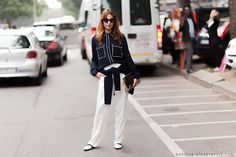 WHO: Ece Sukan WHAT: Stella McCartney Shirt WHERE: Milan Fashion Week Spring-Summer 2015 The post...