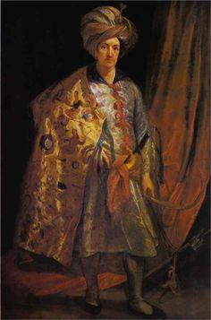 Anthony van Dyck, Sir Robert Sherly, 1622