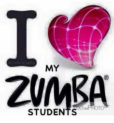 Zumba students
