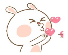 LINE Official Stickers - Sweet Marshmallow Couple 2 Example with GIF Animation Cute Cartoon Images, Emoji Images, Cute Love Cartoons, Cute Cartoon Wallpapers, Love Heart Gif, Love You Gif, Cute Love Gif, Cute Bear Drawings, Cute Cartoon Drawings