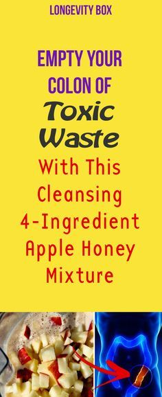 Here's the full apple colon cleansing recipe.