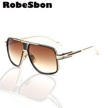 95784bf616b 2017 Mens New Brand Square Sunglasses Men Oversized Retro Sun Glasses for  Women Vintage Glasses or