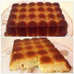 Merci Valérie pour cette recette. Je l'ai réalisé avec Salomé, une petite chef en herbe. La pâte – 150 g de farine – 100 g de sucre – 100 g de beurre fondu – 1 yaourt nature – 2 oeufs battus en omelette – 1 sachet de levure chimique La frangipane – 60...