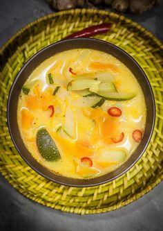 azjatycka zupa z kabaczkiem