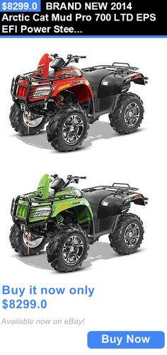 atvs utvs snowmobiles: Brand New 2014 Arctic Cat Mud Pro 700 Ltd Eps Efi Power Steering W/ Warranty!!! BUY IT NOW ONLY: $8299.0