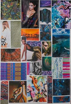 Island heat radiates from the new collection, entitled 'Mirage'. As high summer hits, the Matthew Williamson woman is bronzed, confident and travelling far away from home. The moodboard inspiration behind the high summer 2016 collection. Matthew Williamson, British Style, Far Away, Mood Boards, Moodboard Inspiration, Summer 2016, Confident, Travelling, Wonderland