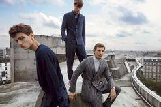 Ermenegildo Zegna Couture Spring/Summer 2015 Advertising Campaign. www.designerclothingfans.com