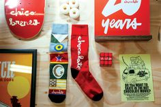 Chocolate Skateboards x Stance Sock Collaboration