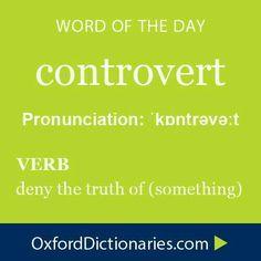 controvert