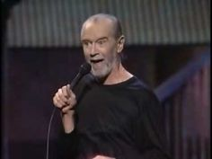 """""""Saving the Planet"""" : George Carlin 