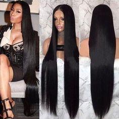 Darlena 8A Indian Hair 4 Bundles Straight Natural Black 1B# Virgin Remy Indian Human Hair Weave 14oz