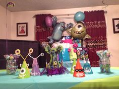 Monsters University Party Decorations