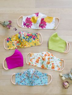 Although it's fall, we want to hang on to the bright and pretty colors of summer! ✨Make a fashion statement by making a mask with vivid florals or PURE Solids that can act as a pop of color with all the neutral outfits in your closet.👗✂️ Have fun with the large variety of AGF florals, whether they are painterly or graphic, you can find one that can easily elevate any look!