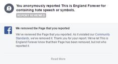 Facebook Removes ALL Jim Dowson and Nick Griffin's Pages – IRBF