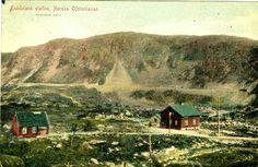 Nordland fylke Narvik Hundalen station på Ofotbanen brukt 1910