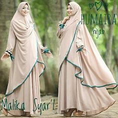 Hijab Gown, Hijab Dress Party, Hijab Style Dress, Hijab Chic, Moslem Fashion, Niqab Fashion, Modele Hijab, Hijab Collection, Baby Girl Party Dresses