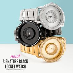 Check out the gorgeous, new Origami Owl Fall + Winter Collection - Origami Owl, Origami Owl watch, locket watch, watch, Swarovski, Fall accessories, Winter accessories, jewelry, lockets, charms, personalized gifts