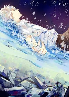 Nagisa Kaworu (Neon Genesis Evangelion) on We Heart It Neon Genesis Evangelion, Manga Anime, Manga Art, Cute Anime Boy, I Love Anime, Awesome Anime, Anime Cosplay, Anime Lindo, Natsume Yuujinchou
