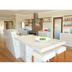 Beautify your kitchen with a Vicostone countertop from Moscone Marble.