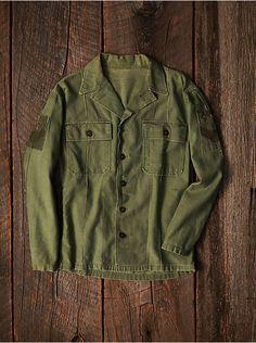 Free People Vintage Military Jacket, $248.00
