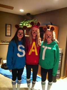 Image result for alvin and the chipmunks costumes