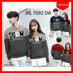 Sweater Couple Collection New Ivpn Terlaris