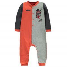 Pajamas Multi Orange / Pyjama une-pièce sans pieds Souris Mini