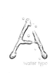 Experimental Typography - Rainy Days on Typography Served