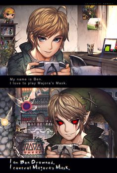 Ben Drowned - When you meet with a terrible fate by kawacy.deviantart.com on @DeviantArt