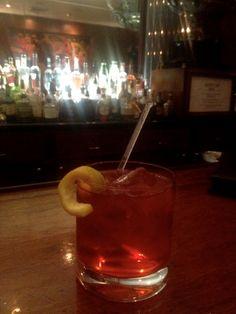 Negroni #cocktail from Sazerac Bar #nola