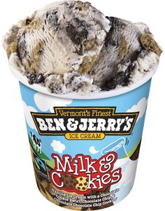 locations of Milk & cookies Ben and Jerrys ice cream