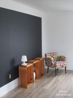 How to Color Block a Wall with @frogtape Create a unique look for a wall with paint, instead of painting the entire wall, how about just part of it?