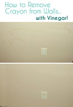 How to Remove Crayon from Walls.