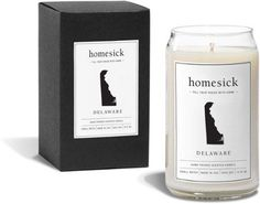 Homesick Candles Delaware Candle Strawberry/River