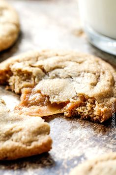Caramel Stuffed Brown Sugar Cookies are incredibly soft and chewy and infused with brown butter! Best cookies EVER! and no chill time!